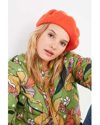 Lyst - Urban Outfitters Bdg Slouchy Beanie in Green 676de105e41a