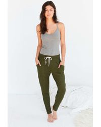 Out From Under - Cozy Ribbed Jogger Pant - Lyst