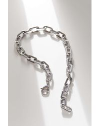 Ellie Vail Uo Exclusive Gage Oversized Link Necklace - Metallic