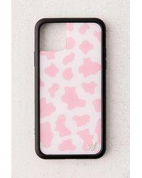 Wildflower Pink Moo Iphone Case