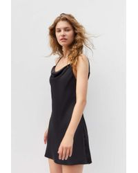 Urban Outfitters - Uo Mallory Cowl Neck Slip Dress - Lyst