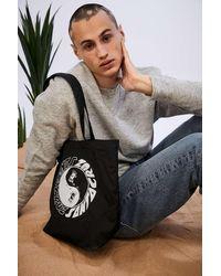 Santa Cruz Uo Exclusive Black Scream Yin & Yang Tote Bag