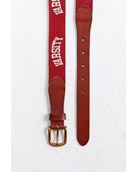Urban Outfitters Varsity Needlepoint Belt - Multicolour