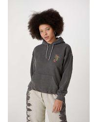 Urban Outfitters Uo Koi Fish Skate Hoodie - Grey