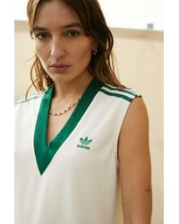 adidas Tennis Luxe Off-white Tennis Dress