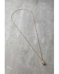 Vivienne Westwood Chloris Pendant Necklace - Metallic