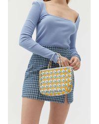 Urban Outfitters Pippa Woven Mini Tote Bag - Multicolor