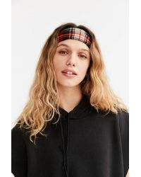 Urban Outfitters - Plaid Wide Headwrap - Lyst