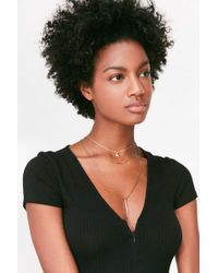 Urban Outfitters - Celeste Layering Necklace Set - Lyst