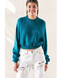Urban Renewal - Remade Dolman Cropped Sweater - Lyst
