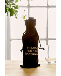 Urban Outfitters Holiday Wine Bag - Black