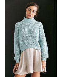 Kimchi Blue - Noah Balloon-sleeve Turtleneck Sweater - Lyst