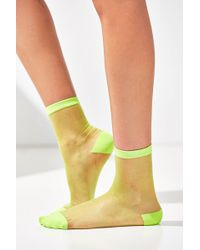 Out From Under - Monofilament Crew Sock - Lyst