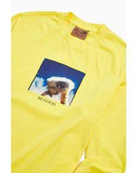 Lazy Oaf X E.t. Long Sleeve Tee - Yellow