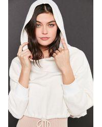 Truly Madly Deeply | Tie Hem Hoodie Sweatshirt | Lyst