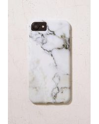 Urban Outfitters - White Marble Iphone 7/6 Case - Lyst