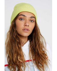 iets frans Lat Knit Beanie - Yellow