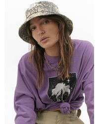 Urban Outfitters Uo Paisley Bucket Hat - Multicolour