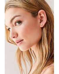 Urban Outfitters - Neon Rainbow Star Post Earring - Lyst