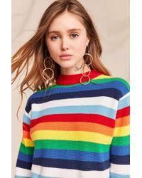 Urban Renewal - Vintage 70's Rainbow Crew Neck Sweater - Lyst