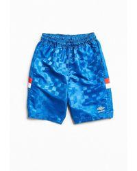 Umbro Checkerboard Short - Blue