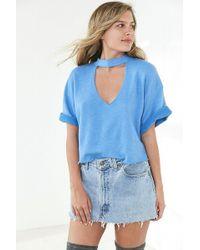 Truly Madly Deeply - Ollie Cutout Sweatshirt - Lyst