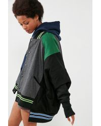 BDG - Lena Oversized Reversible Varsity Jacket - Lyst