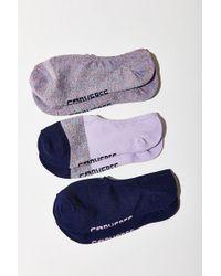 Converse - All Star Glitter Hidden Liner Sock 3 Pack - Lyst