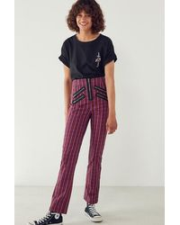 Silence + Noise - Malorie High-rise Zipper Pant - Lyst
