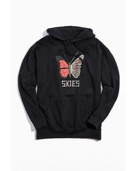 Urban Outfitters Lil Skies Hoodie Sweatshirt - Multicolor