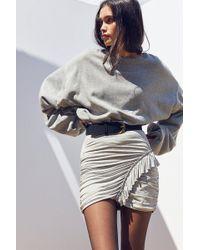 Cooperative - Boppie Side-ruffle Mini Skirt - Lyst
