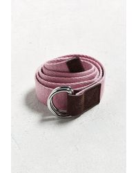 Stussy - Herringbone D-ring Belt - Lyst