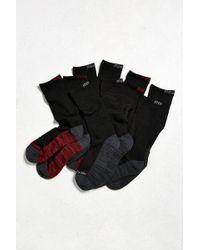 Reebok | Colorblock Crew Sock 5-pack | Lyst