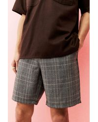 Santa Cruz Black Checked Local Shorts
