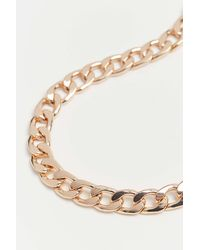 Urban Outfitters Curb Chain Anklet - Multicolor