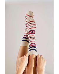 Urban Outfitters - Uo Southwestern Print Socks - Lyst