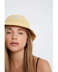Urban Outfitters Uo Utility Bucket Hat - Yellow