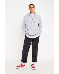 iets frans Karierte Pyjamahose - Grau