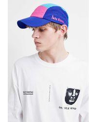 f7c1b02af Pink Colourblock Cap - Multicolour