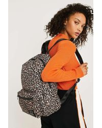 Urban Outfitters - Uo Leopard Print Nylon Backpack - Womens All - Lyst