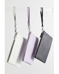 Urban Outfitters Soft Wristlet Pouch - Purple