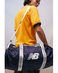 New Balance Navy Opp Core Medium Duffle Bag - Blue