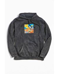 Urban Outfitters Sesame Street Hello Hoodie Sweatshirt - Gray
