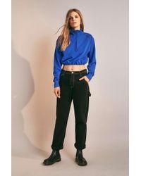 BDG - Black Contrast Stitch Workwear Jeans - Lyst