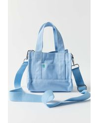 BDG Mini Canvas Tote Bag - Blue