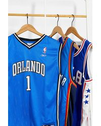Urban Renewal Vintage Blue Nba Jersey Top