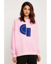 Gestuz Carlotta Pullover Sweatshirt - Pink