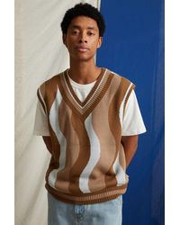 Urban Outfitters Uo Patterned Sweater Vest - Multicolour