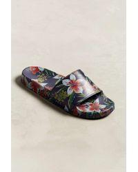 Slydes Floral Slide Sandal - Multicolor