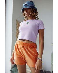 Santa Cruz Lilac Baby T-shirt - Purple